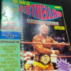 Coleccionismo deportivo: REVISTA ESTRELLAS DE LA LUCHA AMERICANA PRESSING CATCH WWF NUMERO 2. Lote 180221787