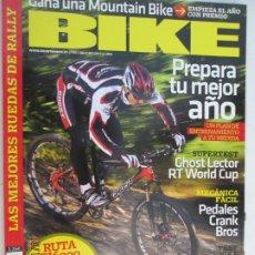 Coleccionismo deportivo: BIKE REVISTA Nº 201 -1-2009 PREPARA TU MEJOR AÑO . Lote 180419665