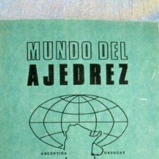 Coleccionismo deportivo: AJEDREZ.REVISTA MUNDO DEL AJEDREZ Nº 59.AGOSTO 1971.. Lote 180482328