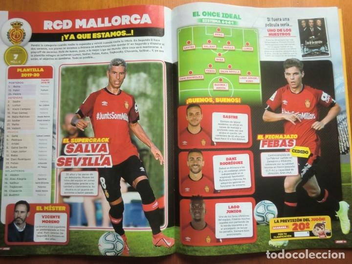 Coleccionismo deportivo: Revista JUGÓN Nº 152 de PANINI. Octubre 2019. Número especial de 80 páginas ¡Nueva! - Foto 7 - 180482418