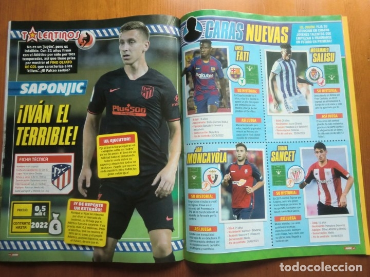 Coleccionismo deportivo: Revista JUGÓN Nº 152 de PANINI. Octubre 2019. Número especial de 80 páginas ¡Nueva! - Foto 8 - 180482418