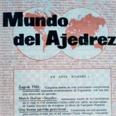 Coleccionismo deportivo: AJEDREZ.REVISTA MUNDO DEL AJEDREZ.Nº 7.JULIO 1965.. Lote 180482743