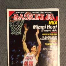 Coleccionismo deportivo: BASKET 16, NO.67, N B A . MIAMI HEAT. ...PÓSTER DOMINIQUE WILKINS (15 DE ENERO DE 1989). Lote 180498146