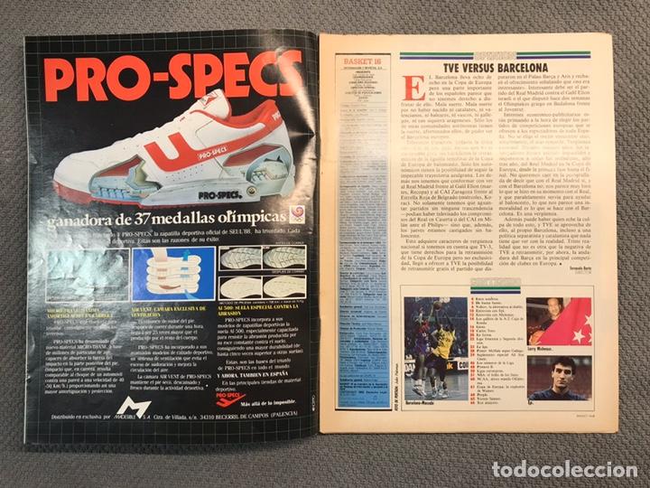 Coleccionismo deportivo: BASKET 16, No.71, VOLKOV El Gran rojo con camiseta blanca ..PÓSTER NBA HOUSTON - Foto 2 - 180504218