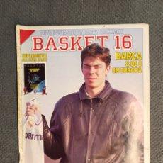 Coleccionismo deportivo: BASKET 16, NO.71, VOLKOV EL GRAN ROJO CON CAMISETA BLANCA ..PÓSTER NBA HOUSTON. Lote 180504218