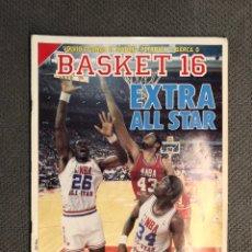 Coleccionismo deportivo: BASKET 16, NO.73, EXTRA ALL STAR..PÓSTER KENNY WALKER (26!DE FEBRERO DE 1989). Lote 180504785