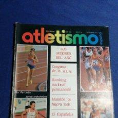 Coleccionismo deportivo: REVISTA ATLETISMO ESPAÑOL. DICIEMBRE 1983. PILAR FERNÁNDEZ, ANTONIO PRIETO. Lote 181136456