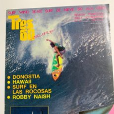 Coleccionismo deportivo: REVISTA TRES 60 SURF AÑO 1 Nº 2 DE 1987. Lote 181507265