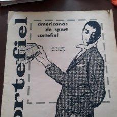 Coleccionismo deportivo: REVISTA CORTEFIEL DEDICADA AL CICLISMO AÑO 1960. Lote 182122388