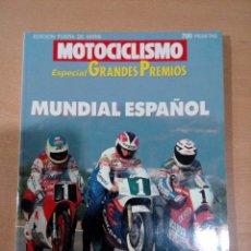 Coleccionismo deportivo: REVISTA MOTOCICLISMO -ESPECIAL GRANDES PREMIOS 1989 - NÚMERO 2 -BUEN ESTADO. Lote 182615988