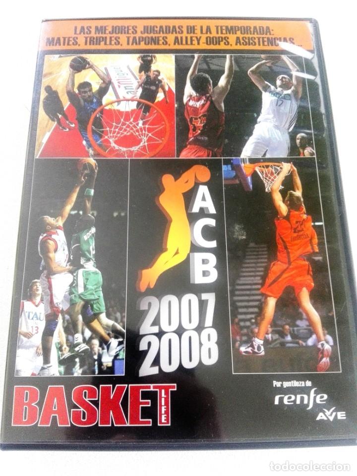 Coleccionismo deportivo: BASKET LIFE Nº 6 (2008) ESPAÑA A CONQUISTAR EL OLIMPO - Con DVD - Foto 3 - 182763266