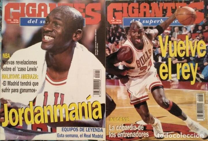 Coleccionismo deportivo: Michael Jordan & Washington Wizards - 14 revistas Gigantes del Basket (2001-2003) - NBA - Foto 8 - 145216850