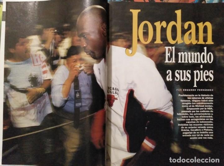 Coleccionismo deportivo: Michael Jordan & Washington Wizards - 14 revistas Gigantes del Basket (2001-2003) - NBA - Foto 9 - 145216850