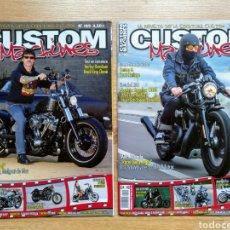 Coleccionismo deportivo: REVISTAS MOTO CUSTOM MACHINES - HARLEY DAVIDSON - MOTOCICLISMO. Lote 182827342