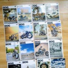 Coleccionismo deportivo: LOTE REVISTAS MOTO HOG HARLEY DAVIDSON - MOTOCICLISMO. Lote 182832557