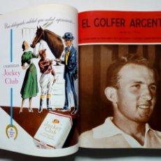 Coleccionismo deportivo: TOMO (ENERO 1956 A DIC. 1956) - EL GOLFER ARGENTINO - REVISTA DE GOLF - 12 NÚMEROS ENCUADERNADOS. Lote 183075345