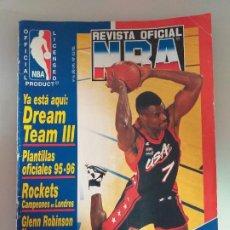 Coleccionismo deportivo: REVISTA OFICIAL NBA, AÑO 1995, NÚMERO 46. Lote 183591932