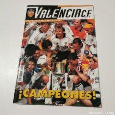Coleccionismo deportivo: REVISTA ESPECIAL VALENCIA CF CAMPEÓN COPA 1999. Lote 183592562
