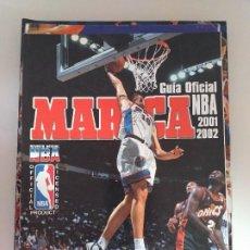 Coleccionismo deportivo: GUÍA OFICIAL NBA 2001-02. Lote 183593138