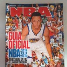 Coleccionismo deportivo: GUÍA OFICIAL NBA 2015-16. Lote 183593492