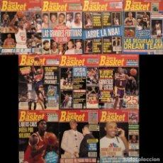 Coleccionismo deportivo: LOTE DE 10 NÚMEROS DE LA REVISTA ''SUPERBASKET'' (1991-1993) - NBA. Lote 183749297