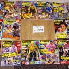 Coleccionismo deportivo: LOTE 16 REVISTAS CICLISMO A FONDO VAN DEL 157 AL 177 NÚMEROS SALTEADOS VER FOTOS ESTADO Y DESCRIPCI. Lote 183861667