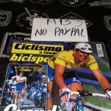 Coleccionismo deportivo: CICLISMO A FONDO BICISPORT 167 PLANO VUELTA ESPAÑA. Lote 183862417