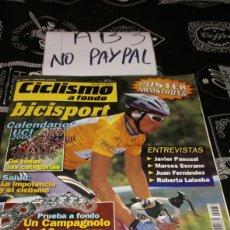 Coleccionismo deportivo: CICLISMO A FONDO BICISPORT 182 JAN ULLRICH. Lote 183862577