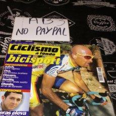 Coleccionismo deportivo: CICLISMO A FONDO BICISPORT 183 EL PIRATA PANTANI. Lote 183862642