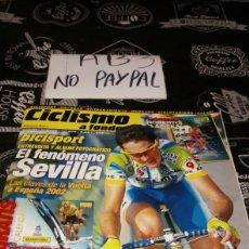 Coleccionismo deportivo: CICLISMO A FONDO BICISPORT 206 SEVILLA. Lote 183863091