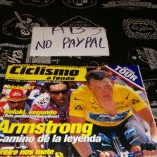 Coleccionismo deportivo: CICLISMO A FONDO BICISPORT 213 A STRONG EXTRA TOUR. Lote 183863582