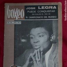 Coleccionismo deportivo: REVISTA BOXEO N°130. JULIO 1968. JOSE LEGRA. HA FALLECIDO EN COLONIA EL PUGIL ALEMAN JUPP ELZE. Lote 183927317