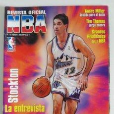 Coleccionismo deportivo: REVISTA OFICIAL NBA Nº 126 (FEB 2003) STOCKTON, MILLER, WEBBER.... Lote 184002945