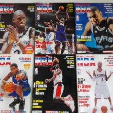 Coleccionismo deportivo: LOTE 6 REVISTAS OFICIAL NBA Nº 104-109 (2001). Lote 184007182