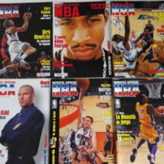 Coleccionismo deportivo: LOTE 6 REVISTAS OFICIAL NBA Nº 112-117 (2001/02). Lote 184007541