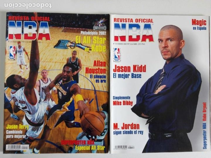 Coleccionismo deportivo: LOTE 6 REVISTAS OFICIAL NBA Nº 112-117 (2001/02) - Foto 3 - 184007541