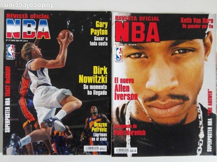 Coleccionismo deportivo: LOTE 6 REVISTAS OFICIAL NBA Nº 112-117 (2001/02) - Foto 4 - 184007541
