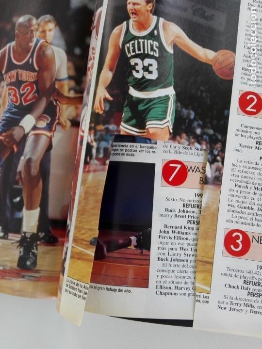 Coleccionismo deportivo: LOTE 6 Revistas GIGANTES DEL BASKET (1992/93) CON TARAS - Foto 3 - 184054957