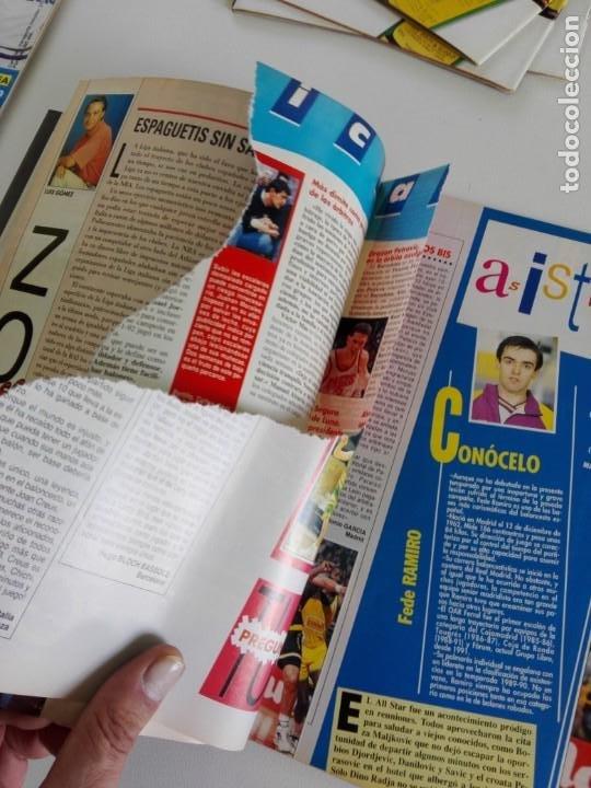 Coleccionismo deportivo: LOTE 6 Revistas GIGANTES DEL BASKET (1992/93) CON TARAS - Foto 10 - 184054957