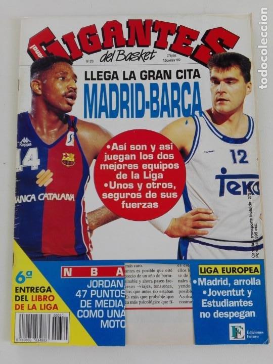 Coleccionismo deportivo: LOTE 6 Revistas GIGANTES DEL BASKET (1992/93) CON TARAS - Foto 11 - 184054957