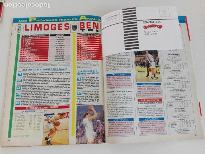 Coleccionismo deportivo: LOTE 6 Revistas GIGANTES DEL BASKET (1992/93) CON TARAS - Foto 12 - 184054957