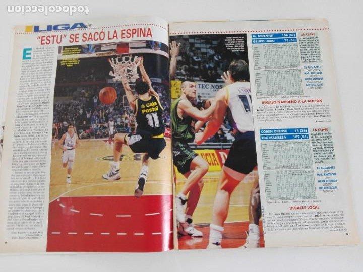 Coleccionismo deportivo: LOTE 6 Revistas GIGANTES DEL BASKET (1992/93) CON TARAS - Foto 14 - 184054957