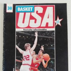 Coleccionismo deportivo: FASCÍCULO COLECCIONABLE BASKET USA N° 38 (1986) PACERS ABA, NCAA, LA SALLE, JERRY WEST. Lote 184056205