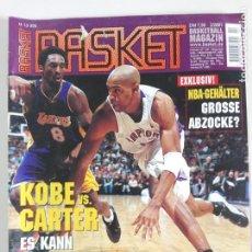 Coleccionismo deportivo: REVISTA ALEMANA BASKET (FEB 2001) - KOBE VS. CARTER, ALL STAR 2001 (+ 4 SUPERPOSTERS). Lote 184056648
