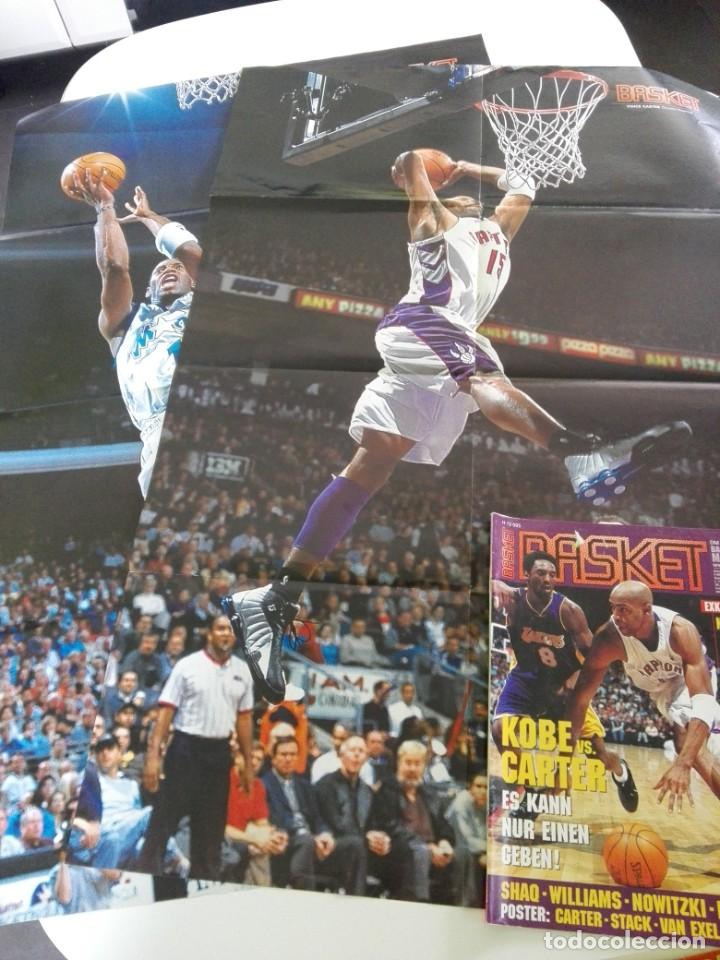 Coleccionismo deportivo: Revista alemana BASKET (FEB 2001) - KOBE VS. CARTER, ALL STAR 2001 (+ 4 SUPERPOSTERS) - Foto 7 - 184056648