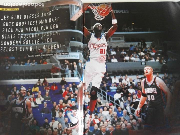 Coleccionismo deportivo: Revista alemana BASKET (MAR 2001) - NOWITZKI, JUMP MEN (+ 4 SUPERPOSTERS) - Foto 3 - 184056832