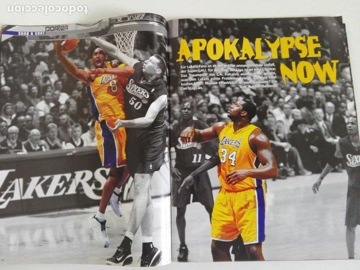 Coleccionismo deportivo: Revista alemana BASKET (MAR 2001) - NOWITZKI, JUMP MEN (+ 4 SUPERPOSTERS) - Foto 4 - 184056832