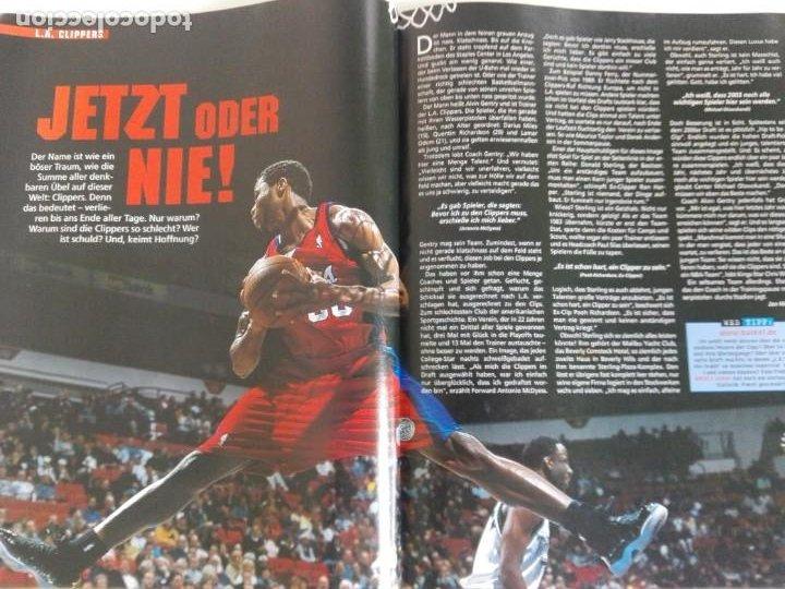 Coleccionismo deportivo: Revista alemana BASKET (MAR 2001) - NOWITZKI, JUMP MEN (+ 4 SUPERPOSTERS) - Foto 5 - 184056832