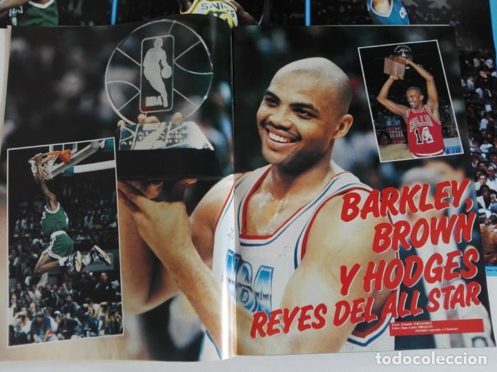 Coleccionismo deportivo: REVISTA GIGANTES DEL BASKET Nº 277 (1991) - EXTRA ALL STAR 91 + DOBLE PÓSTER GIGANTE - Foto 3 - 184058028