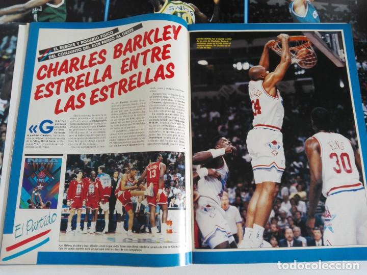 Coleccionismo deportivo: REVISTA GIGANTES DEL BASKET Nº 277 (1991) - EXTRA ALL STAR 91 + DOBLE PÓSTER GIGANTE - Foto 4 - 184058028